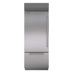 Brand: Sub Zero, Model: BI36UIDSPHRH, Style: Stainless Steel with Pro Handle, Internal Water Dispenser, Left Hinge