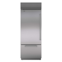 Brand: Sub Zero, Model: BI36USPHRH, Style: Stainless Steel with Pro Handles, Left Hinge