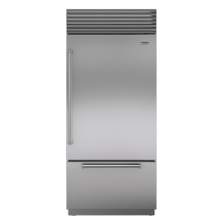 Brand: Sub Zero, Model: BI36USPHRH, Style: Stainless Steel with Pro Handles, Right Hinge