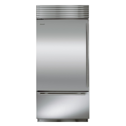 Brand: Sub Zero, Model: BI36UIDSPHRH, Style: Stainless Steel with Tubular Handles, Left Hinge