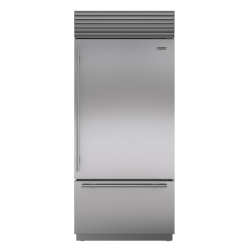 Brand: Sub Zero, Model: BI36USPHRH, Style: Stainless Steel with Tubular Handles, Right Hinge