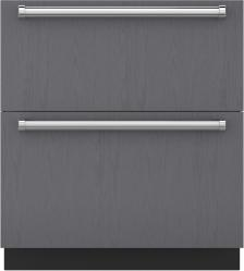 Brand: Sub Zero, Model: ID30C, Style: Panel Ready with Ice Maker