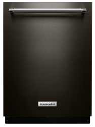 Brand: KitchenAid, Model: KDTE234GWH, Color: Black Stainless