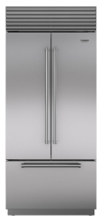 Brand: Sub Zero, Model: BI36UFDIDSPH, Color: Stainless Steel with Pro Handles, Internal Water Dispenser