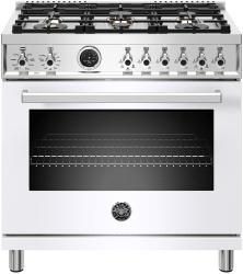 Brand: Bertazzoni, Model: PROF366DFSGITLP, Color: Bianco White