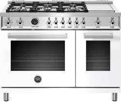 Brand: Bertazzoni, Model: PROF486GDFSNET, Color: Bianco White