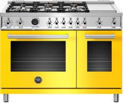 Brand: Bertazzoni, Model: PROF486GDFSNET, Color: Giallo Yellow