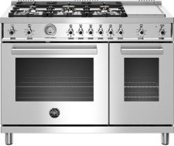 Brand: Bertazzoni, Model: PROF486GGASBIT, Color: Stainless Steel, Liquid Propane