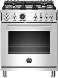 Brand: Bertazzoni, Model: PROF304DFSART, Color: Stainless Steel