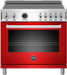 Brand: Bertazzoni, Model: PROF365INSROT, Color: Rosso Red