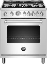 Brand: Bertazzoni, Model: MAST305GASBIE, Color: Stainless Steel, Natural Gas