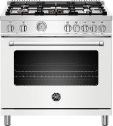 Brand: Bertazzoni, Model: MAST365DFMBIE, Color: Matte White