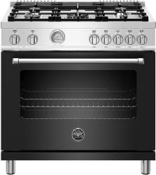 Brand: Bertazzoni, Model: MAST365DFMBIE, Color: Matte Black
