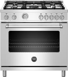 Brand: Bertazzoni, Model: MAST365DFMBIE, Color: Stainless Steel