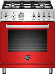 Brand: Bertazzoni, Model: PROF304GASROT, Color: Rosso Red