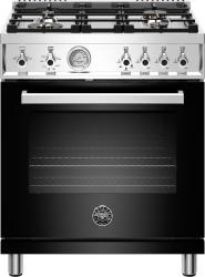 Brand: Bertazzoni, Model: PROF304GASROT, Color: Nero Black