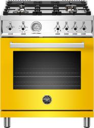 Brand: Bertazzoni, Model: PROF304GASROT, Color: Giallo Yellow
