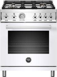 Brand: Bertazzoni, Model: PROF304GASROT, Color: Bianco White