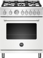 Brand: Bertazzoni, Model: MAST305DFMXE, Color: Matte White