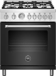 Brand: Bertazzoni, Model: MAST305DFMXE, Color: Matte Black
