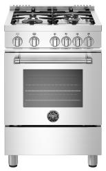 Brand: Bertazzoni, Model: MAST244GASXELP, Color: Stainless Steel, Natural Gas