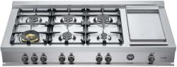 Brand: Bertazzoni, Model: CB48M6G00X, Fuel Type: Stainless Steel