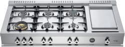 Brand: Bertazzoni, Model: CB486G00XLP, Fuel Type: Stainless Steel