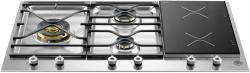 Brand: Bertazzoni, Model: PM363I0X, Fuel Type: Stainless Steel
