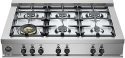 Brand: Bertazzoni, Model: CB36M600X, Fuel Type: Stainless Steel