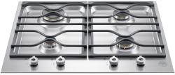 Brand: Bertazzoni, Model: PM24400X, Fuel Type: Stainless Steel