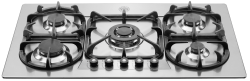 Brand: Bertazzoni, Model: V36500X, Fuel Type: Stainless Steel, Natural Gas