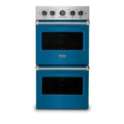 Brand: Viking, Model: VDOE527WH, Color: Alluvial Blue