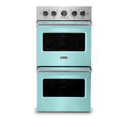Brand: Viking, Model: VDOE527WH, Color: Bywater Blue