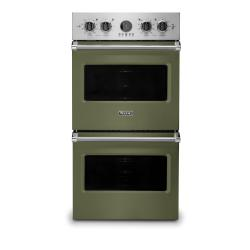 Brand: Viking, Model: VDOE527WH, Color: Cypress Green