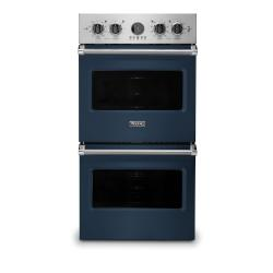 Brand: Viking, Model: VDOE527WH, Color: Slate Blue