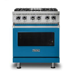 Brand: Viking, Model: VDR5304BGGLP, Color: Alluvial Blue, Liquid Propane
