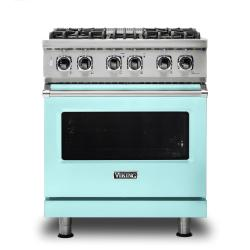 Brand: Viking, Model: VDR5304BGGLP, Color: Bywater Blue, Liquid Propane