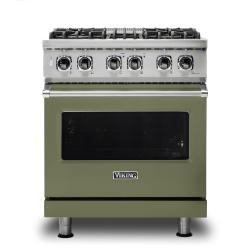 Brand: Viking, Model: VDR5304BGGLP, Color: Cypress Green, Liquid Propane