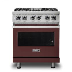 Brand: Viking, Model: VDR5304BGGLP, Color: Kalamata Red, Natural Gas