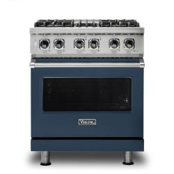 Brand: Viking, Model: VDR5304BGGLP, Color: Slate Blue, Liquid Propane