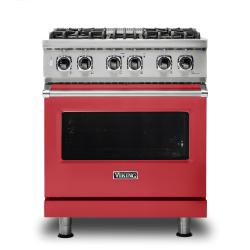 Brand: Viking, Model: VDR5304BGGLP, Color: San Marzano Red, Natural Gas
