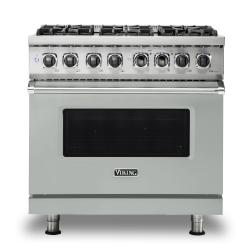 Brand: Viking, Model: VDR5366BBK, Color: Arctic Grey, Liquid Propane