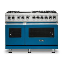 Brand: Viking, Model: VDR5486GDG, Color: Alluvial Blue, Liquid Propane
