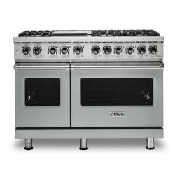 Brand: Viking, Model: VDR5486GDG, Color: Arctic Grey, Natural Gas