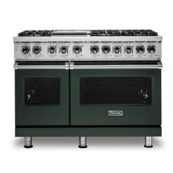 Brand: Viking, Model: VDR5486GDG, Color: Blackforest Green, Liquid Propane