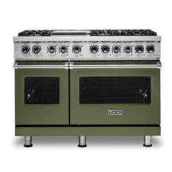 Brand: Viking, Model: VDR5486GDG, Color: Cypress Green, Liquid Propane