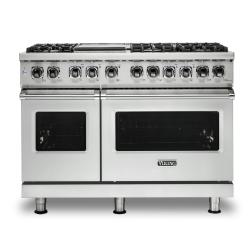 Brand: Viking, Model: VDR5486GDG, Color: Frost White, Natural Gas