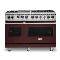 Brand: Viking, Model: VDR5486GDG, Color: Kalamata Red, Liquid Propane