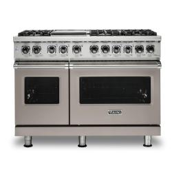 Brand: Viking, Model: VDR5486GDG, Color: Pacific Grey, Natural Gas