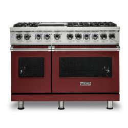Brand: Viking, Model: VDR5486GDG, Color: Reduction Red, Natural Gas